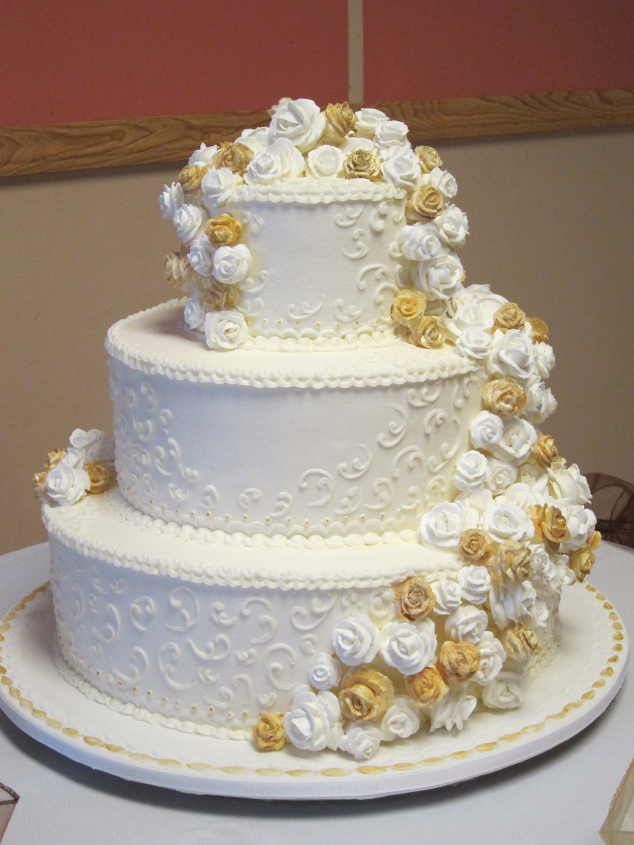 "Old School Wedding Cakes  ""old School"" Wedding Cake CakeCentral"