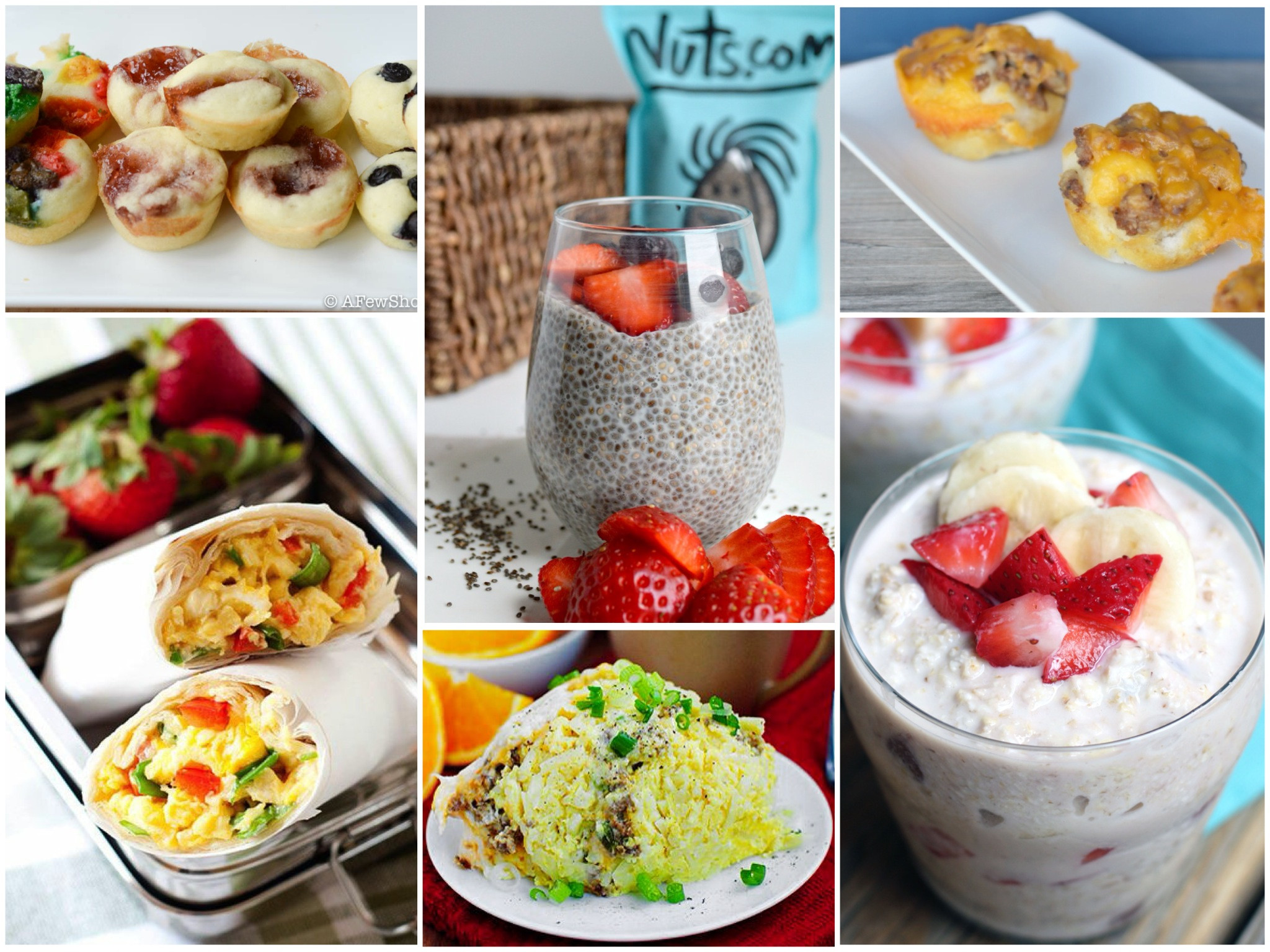 On The Go Healthy Breakfast  12 The Go Breakfasts for Busy School Mornings