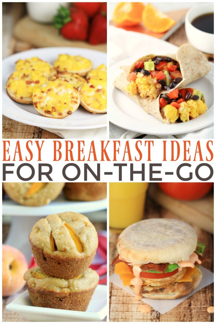 On The Go Healthy Breakfast  Easy Breakfast Ideas for the Go Frugal Mom Eh