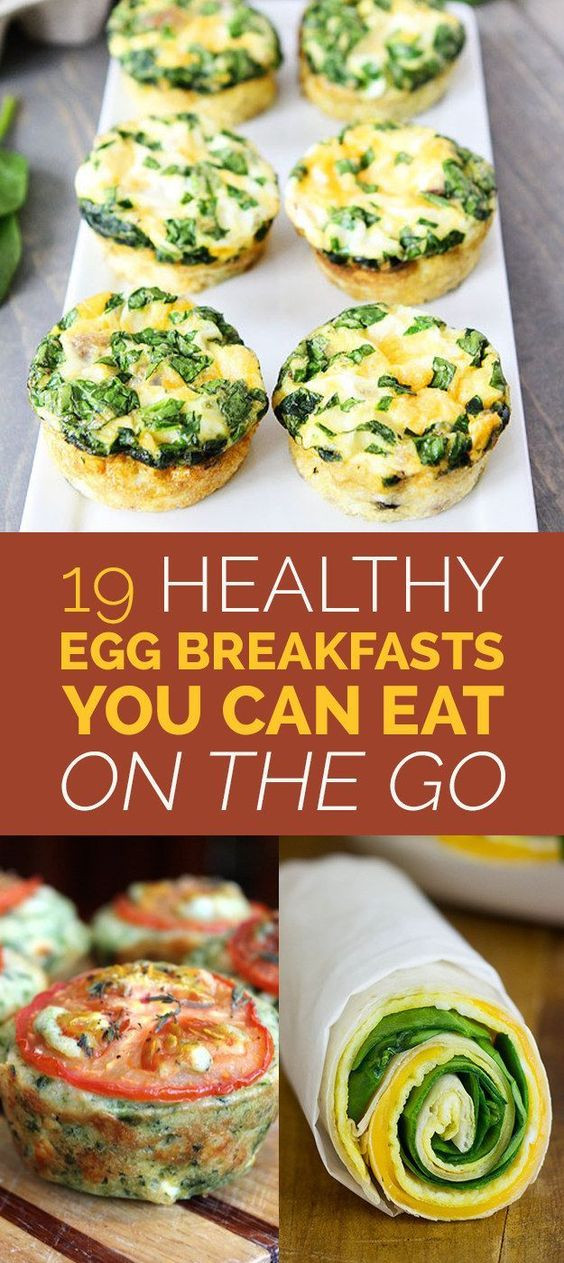On The Go Healthy Breakfast  19 Easy Egg Breakfasts You Can Eat The Go