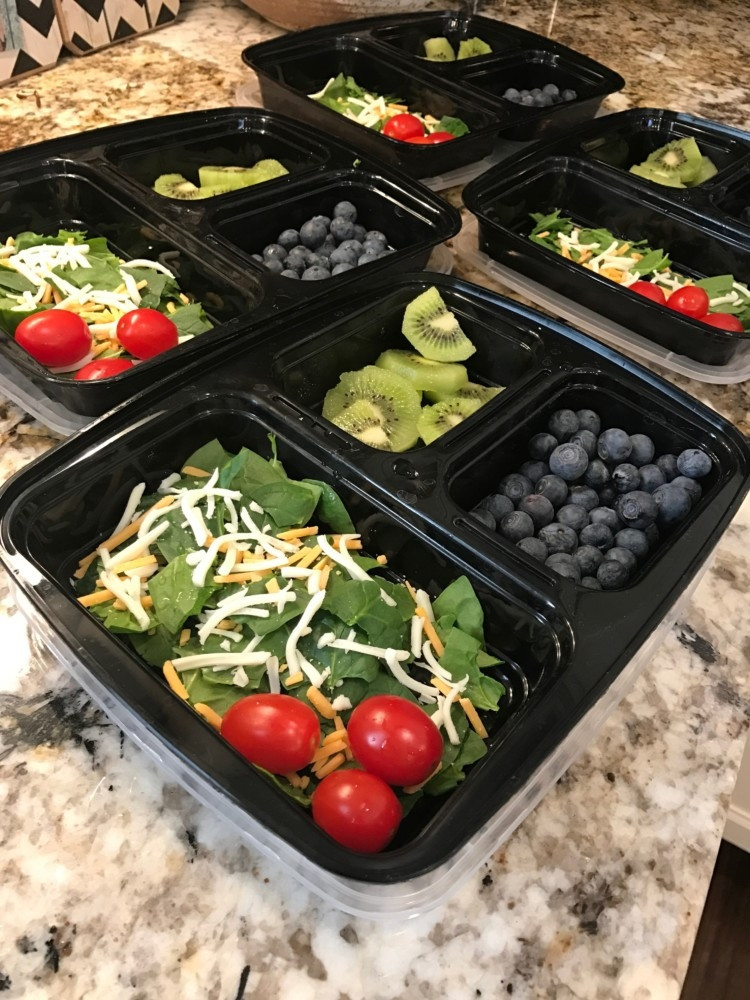 On The Go Healthy Lunches  Sugar Challenge Meal Prep Tips Healthy Lunches The