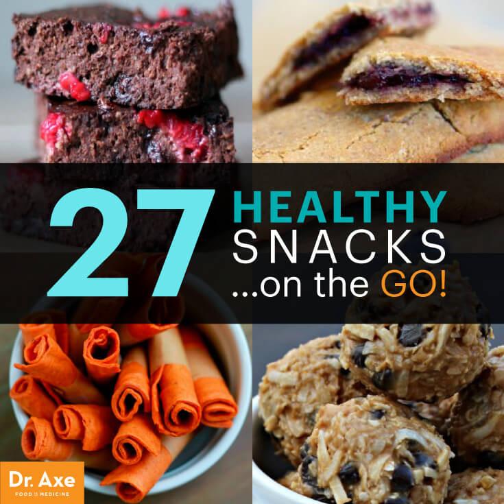 On The Go Healthy Snacks  27 Healthy Snacks on the Go