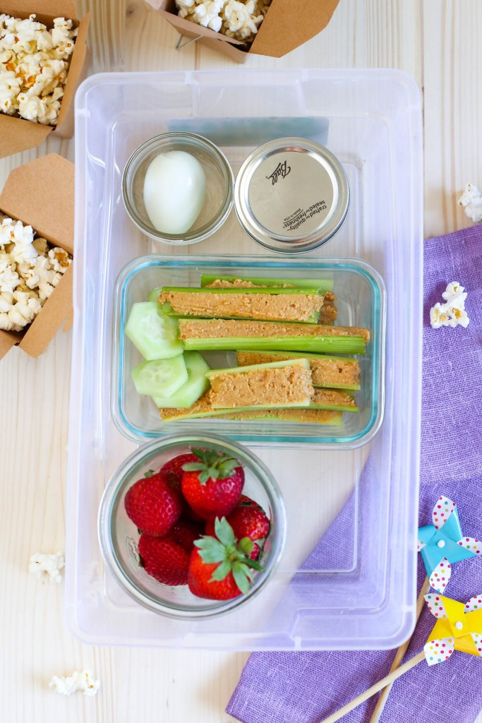 On The Go Healthy Snacks  Simplify Snack Time Grab n Go Healthy Snack Bin for Kids