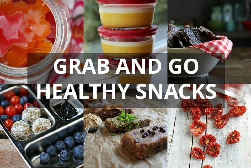 On The Go Healthy Snacks  Healthy Snacks For Kids 21 Grab and Go Ideas