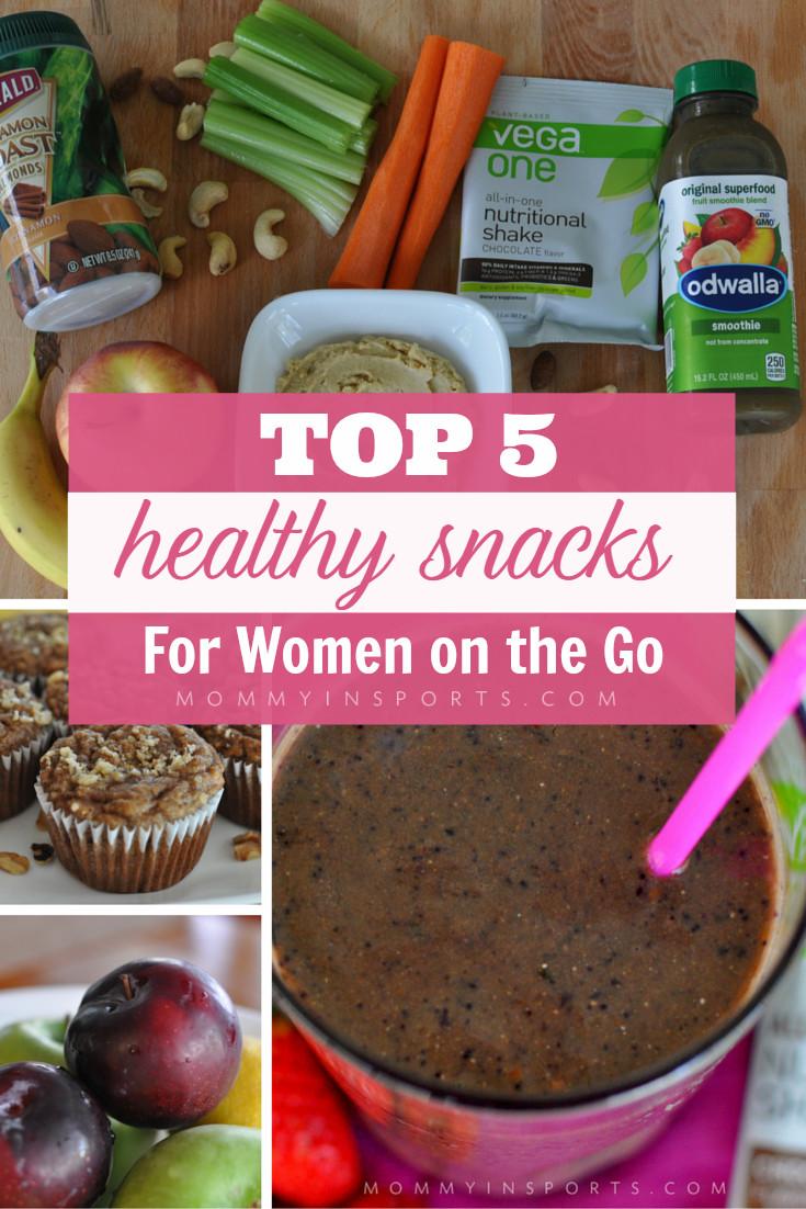 On The Go Healthy Snacks  Top 5 Healthy Snacks for Women the Go Kristen Hewitt