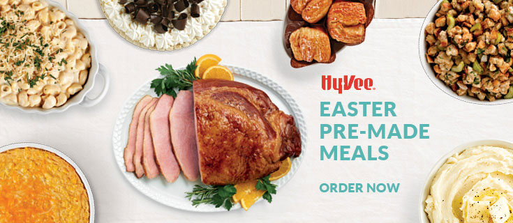 Order Easter Dinner  Hy Vee Your employee owned grocery store