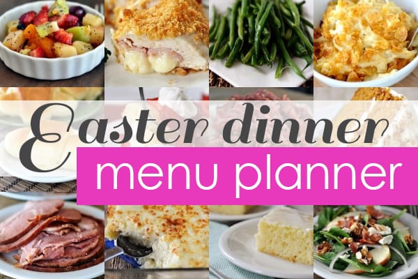 Order Easter Dinner  Easter Dinner Favorites Menu Planner