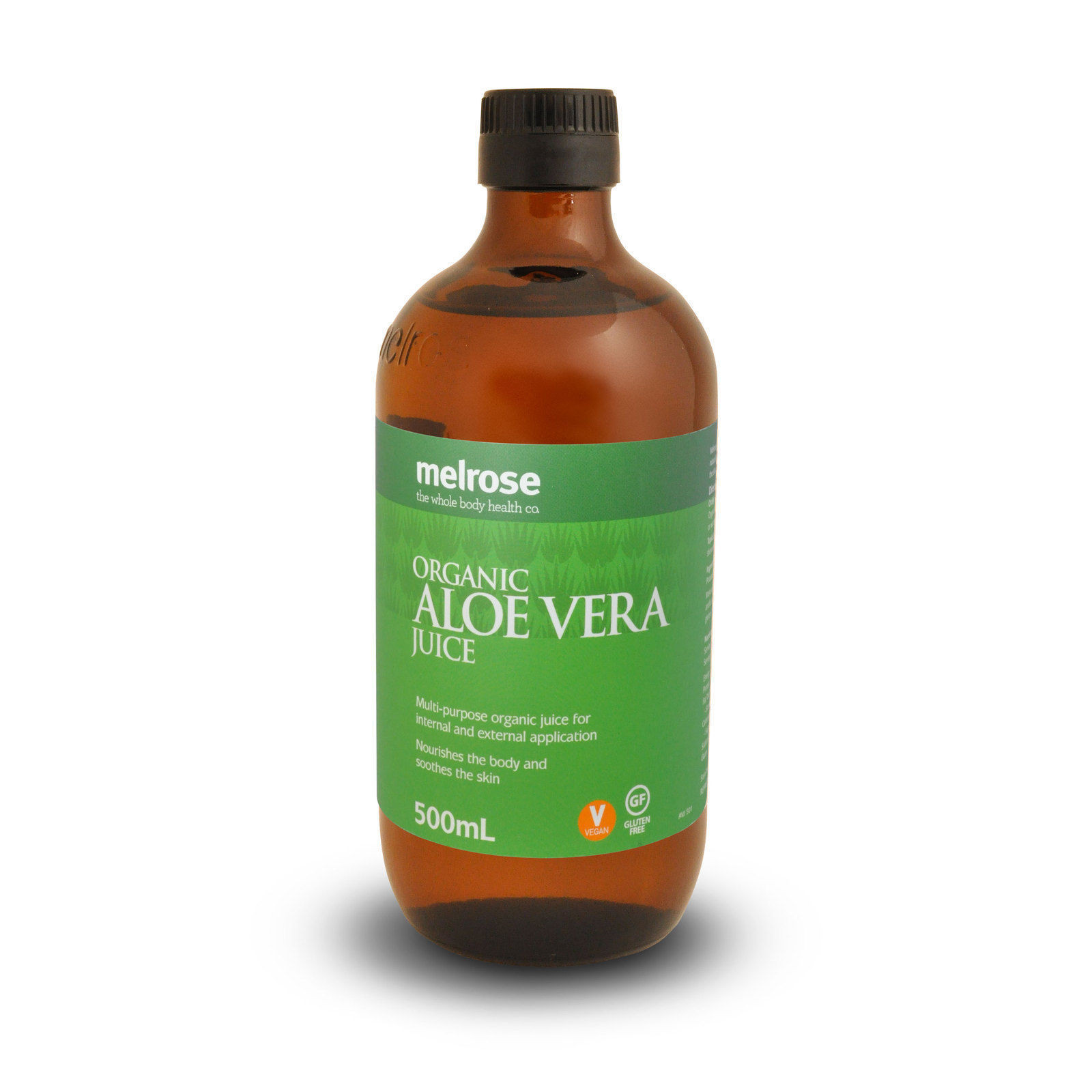 Organic Aloe Vera Juice  Melrose Organic Aloe Vera Juice 500ml Detox Drink Aid