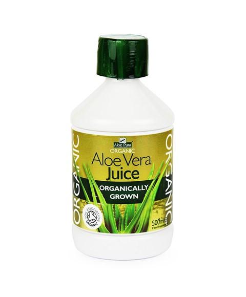 Organic Aloe Vera Juice  ransom aloe pura