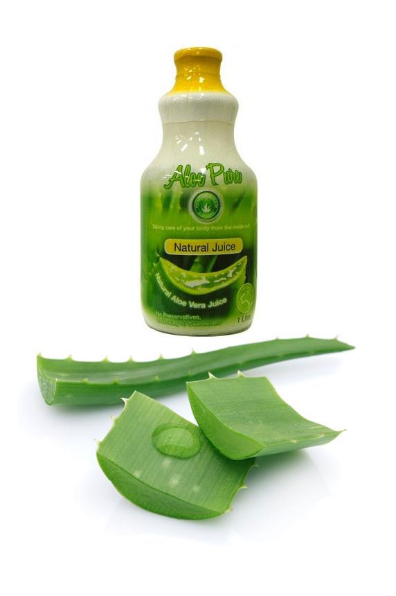 Organic Aloe Vera Juice  Aloe Vera Juice 1 litre – Natural Crush Pulp – Lakshmi
