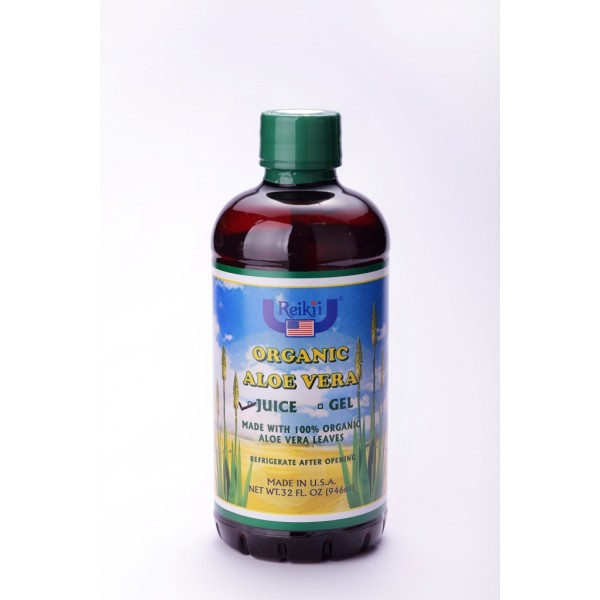 Organic Aloe Vera Juice  Reikii Organic Aloe Vera Juice