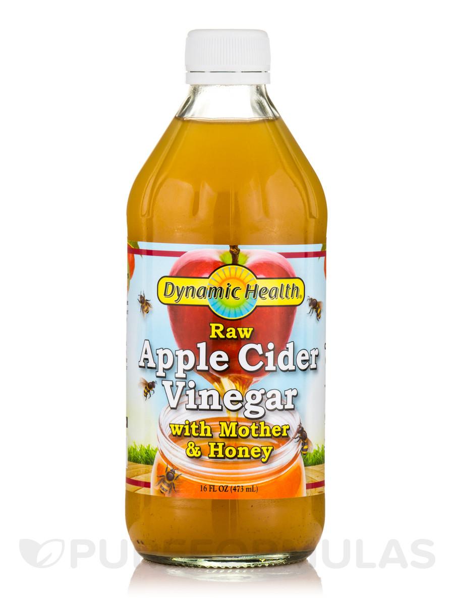 Organic Apple Cider Vinegar Recipes  Apple Cider Vinegar with Mother & Honey Raw 16 fl oz