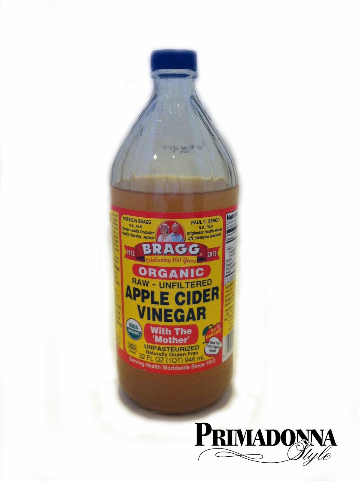 Organic Apple Cider Vinegar Recipes  Primadonna Style DIY Beauty Recipes Pore Cleansing