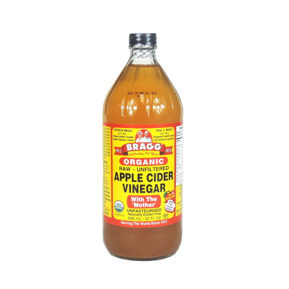 Organic Apple Cider Vinegar Recipes  Bragg Organic Apple Cider Vinegar 946ml