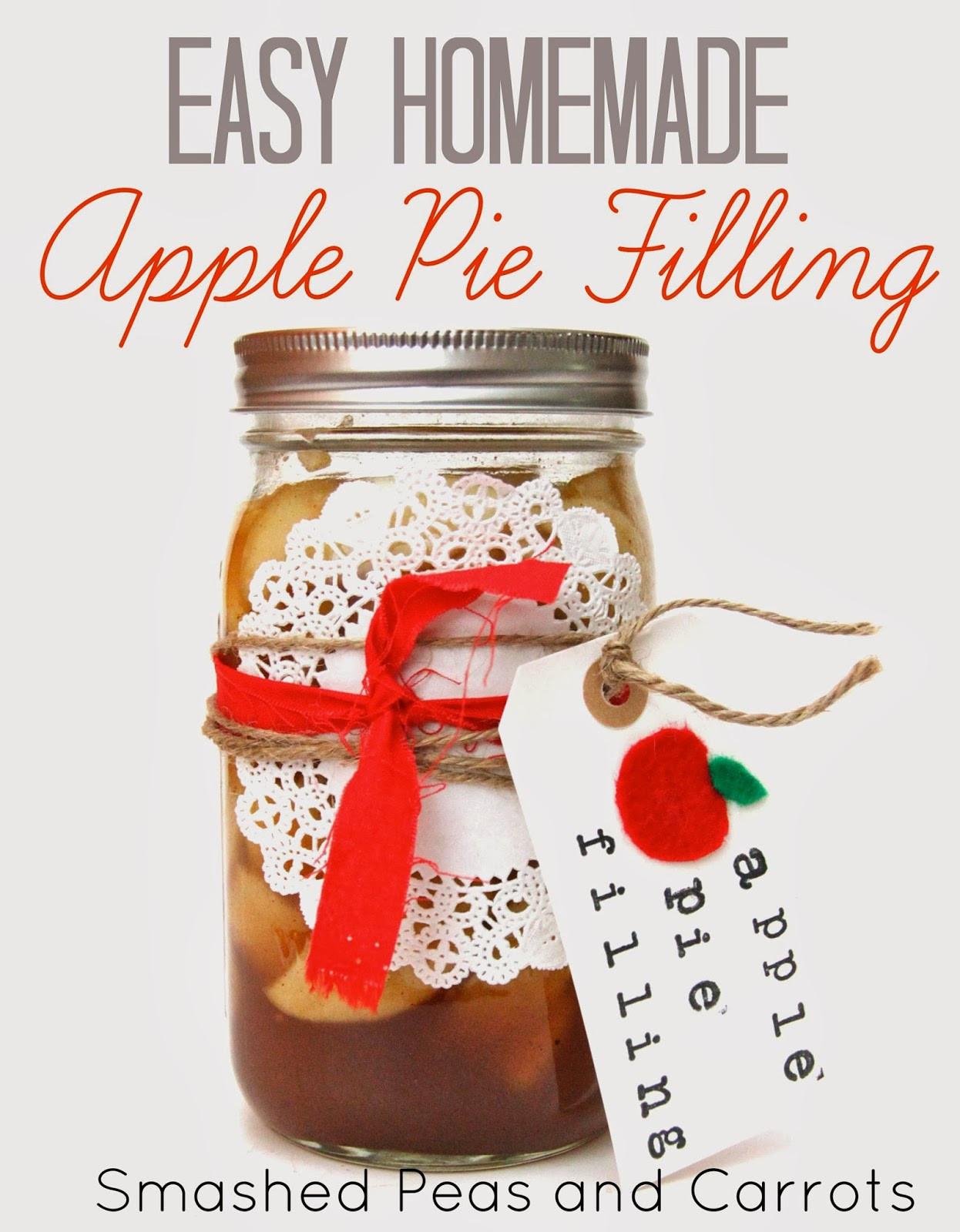 Organic Apple Pie Filling  RECIPE Easy Homemade Apple Pie Filling Smashed Peas