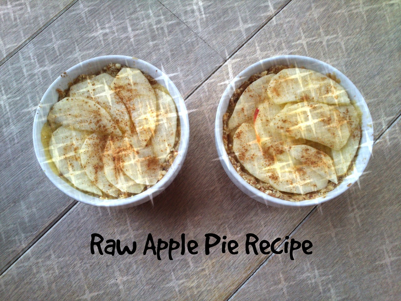 Organic Apple Pie Recipe  MyMissDiorFashion Raw Food apple pie recipe