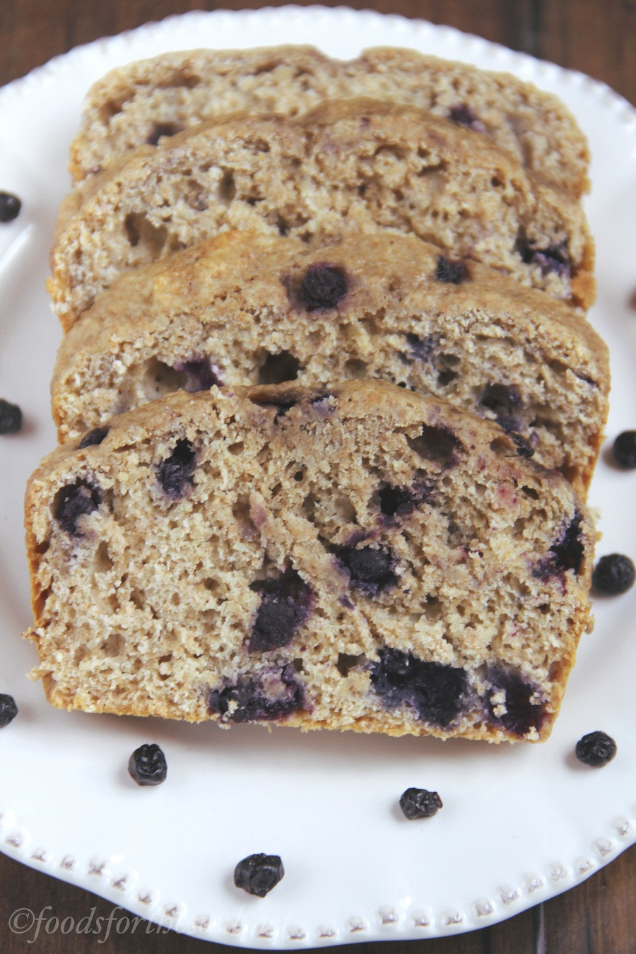 Organic Banana Bread  Whole Wheat Blueberry Banana Bread