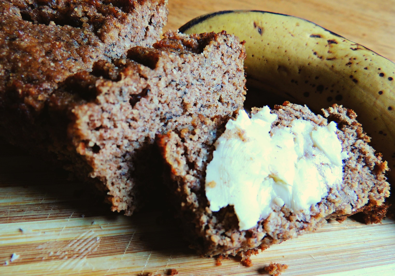 Organic Banana Bread  Tasty Grain Free Organic Coconut Flour Banana Bread