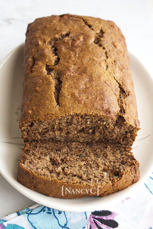 Organic Banana Bread  Whole Wheat Banana Bread