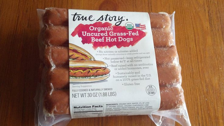 Organic Beef Hot Dogs  Organic Uncured Grass Fed Beef Hot Dogs
