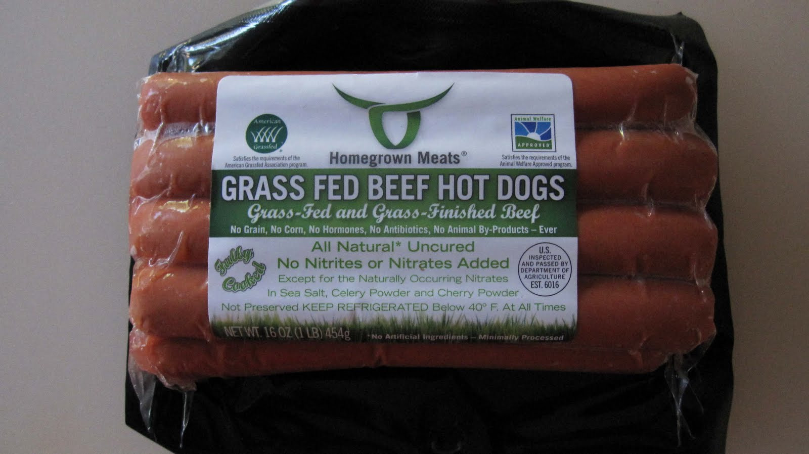 Organic Beef Hot Dogs  To Market To Market with San Diego Foodstuff Grass Fed
