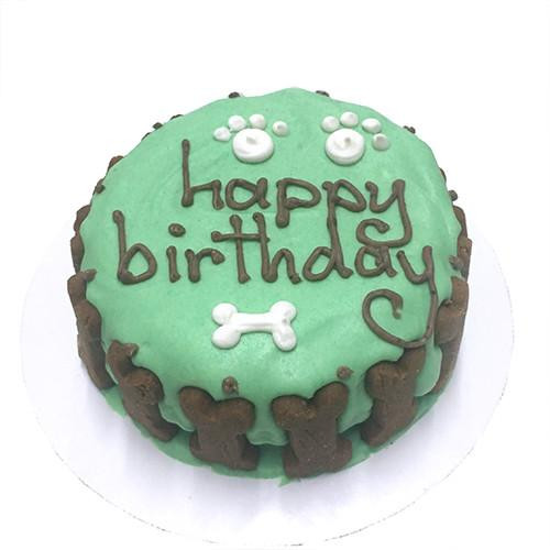 Organic Birthday Cake  Organic Any Occasion Birthday Cake For Dogs Green