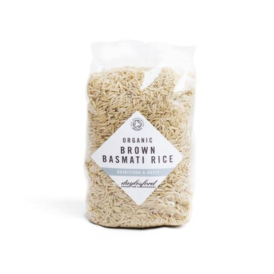 Organic Brown Basmati Rice  Organic Brown Basmati Rice 500g