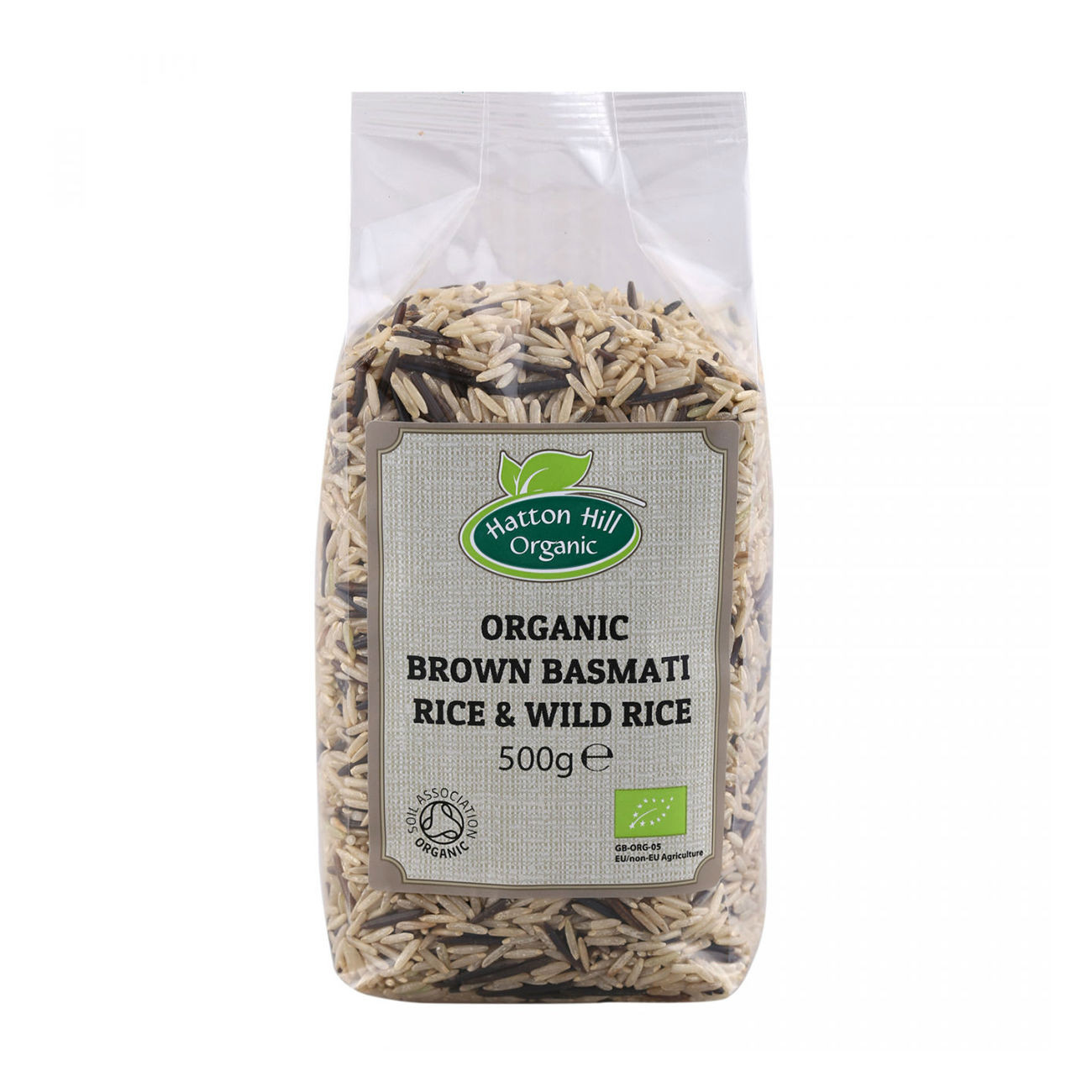 Organic Brown Basmati Rice  Organic Brown Basmati & Wild Rice 500g