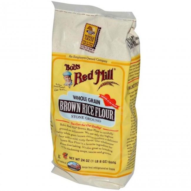 Organic Brown Rice Flour  Bob s Red Mill Organic Brown Rice Flour 25lbs