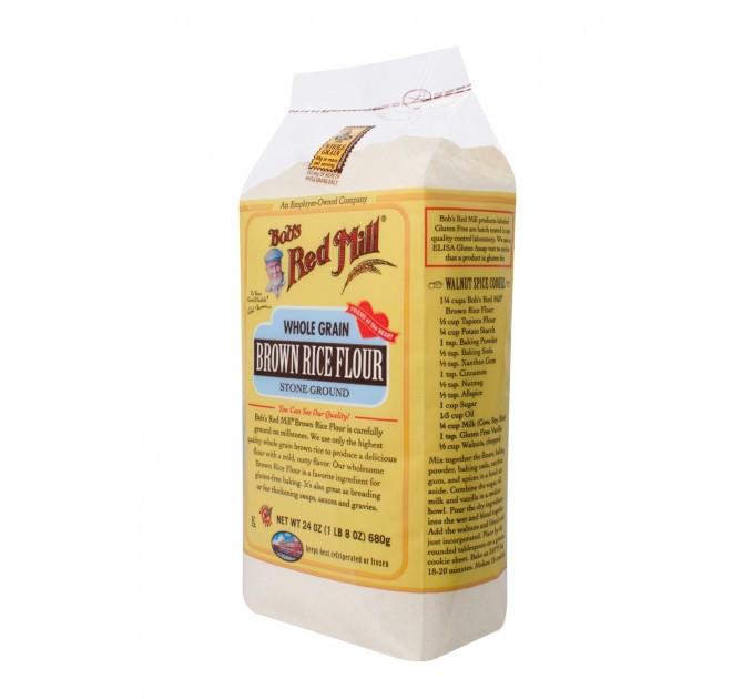 Organic Brown Rice Flour  Brown Rice Flour Gluten Free Substitute