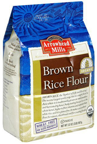 Organic Brown Rice Flour  Arrowhead Mills Organic Brown Rice Flour – OrganicPowerFoods