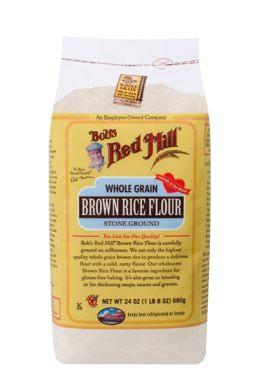 Organic Brown Rice Flour  Bob s Red Mill Whole Grain Brown Rice Flour 24 Oz