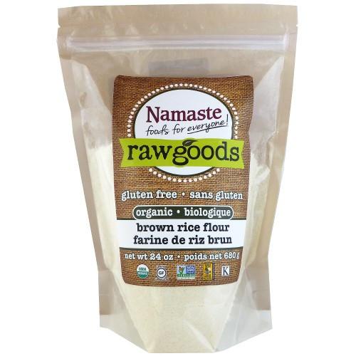 Organic Brown Rice Flour  Namaste Foods Gluten Free Organic Brown Rice Flour 16 Oz