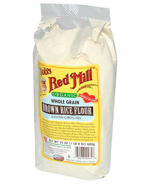 Organic Brown Rice Flour  Organic Brown Rice Flour by Bob s Red Mill