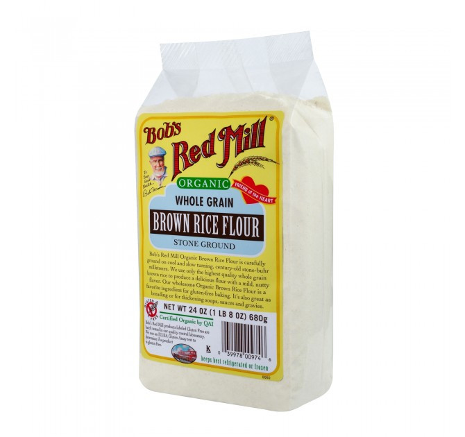 Organic Brown Rice Flour  Organic Brown Rice Flour Bob s Red Mill Natural Foods