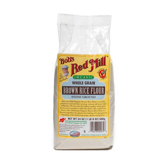 Organic Brown Rice Flour  Organic Brown Rice Flour by Bob s Red Mill Thrive Market