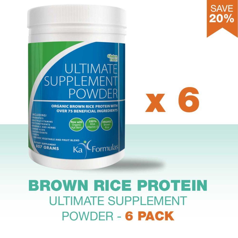 Organic Brown Rice Protein Powder  Organic Brown Rice Protein Ultimate Supplement Powder 6
