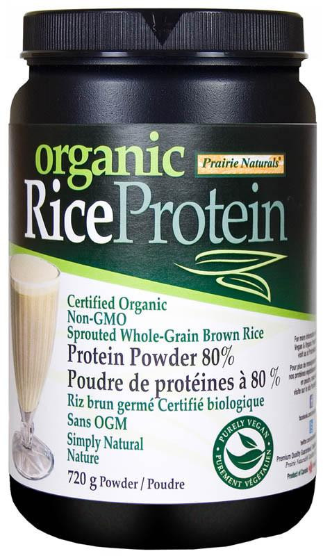 Organic Brown Rice Protein Powder  Prairie Naturals Brown Rice Protein Natural Goodness Me