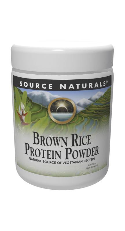 Organic Brown Rice Protein Powder  Brown Rice Protein Powder 32 oz $26 56ea from SOURCE