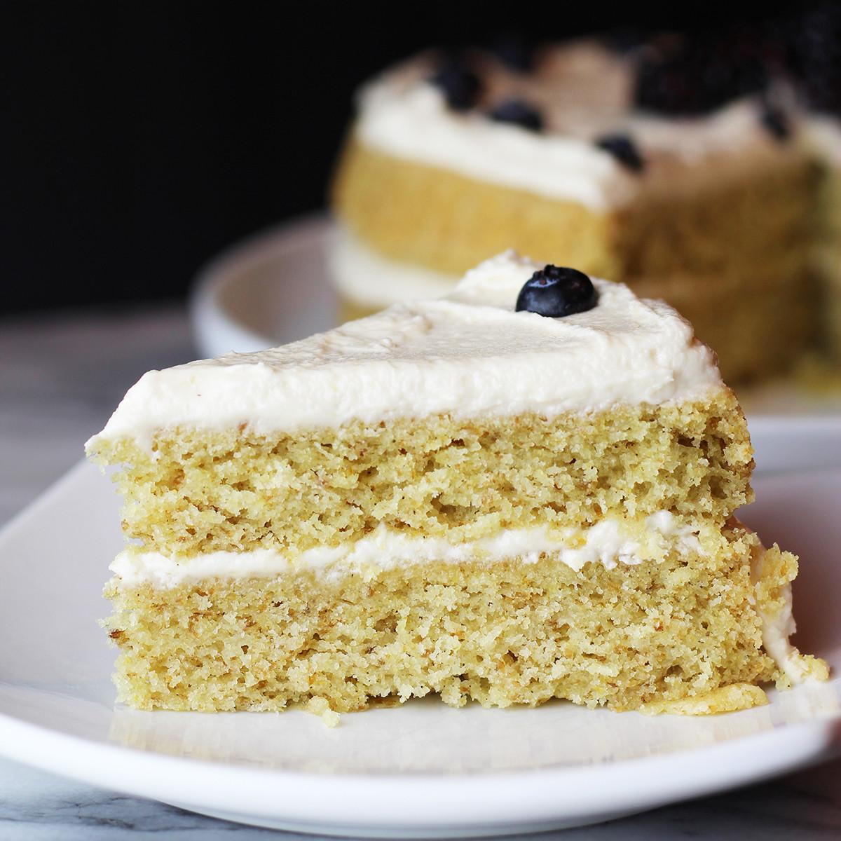 Organic Cake Recipe  Vegan Gluten Free Vanilla Cake Recipe