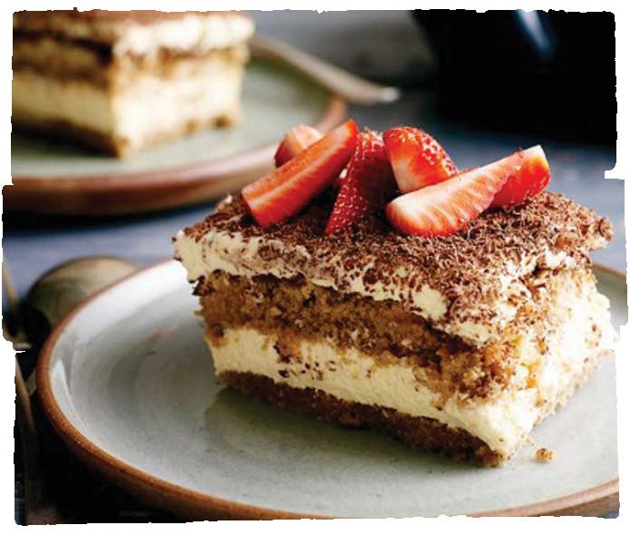 Organic Cake Recipe  Tiramisu Cake Recipe five am Organics