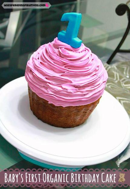 Organic Cake Recipe  Baby s First Organic Birthday Cake Recipe