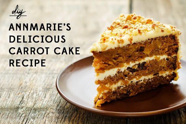 Organic Carrot Cake Recipe  Annmarie s Favorite Carrot Cake Recipe Perfect for Birthdays