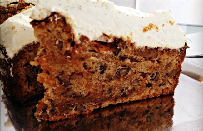 Organic Carrot Cake Recipe  Het recept voor Organic Carrot Cake van Vinnies Deli Culy
