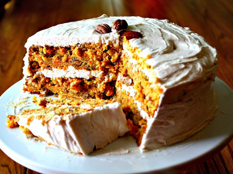 Organic Carrot Cake Recipe  Gluten Free Old Fashioned Carrot Cake GOING2NATURAL