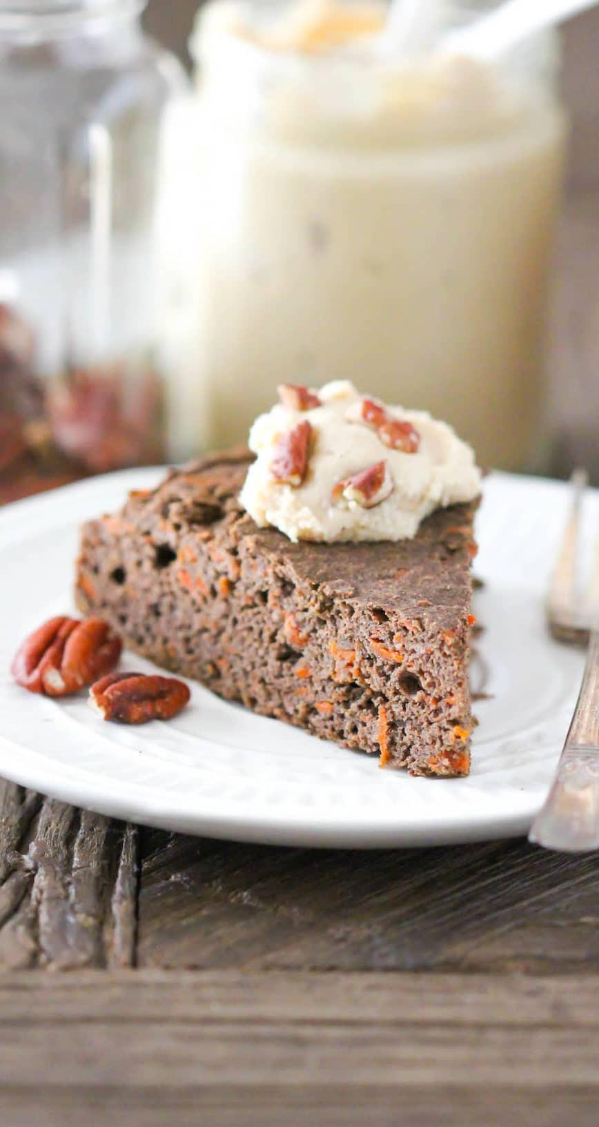 Organic Carrot Cake Recipe  Healthy Buckwheat Carrot Cake Recipe