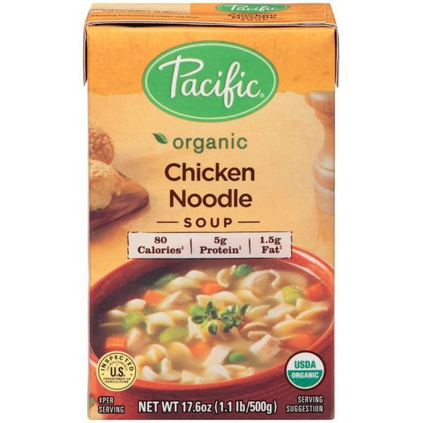 Organic Chicken Noodle Soup  A plete Ranking of the Best Store Bought Soups – SheKnows