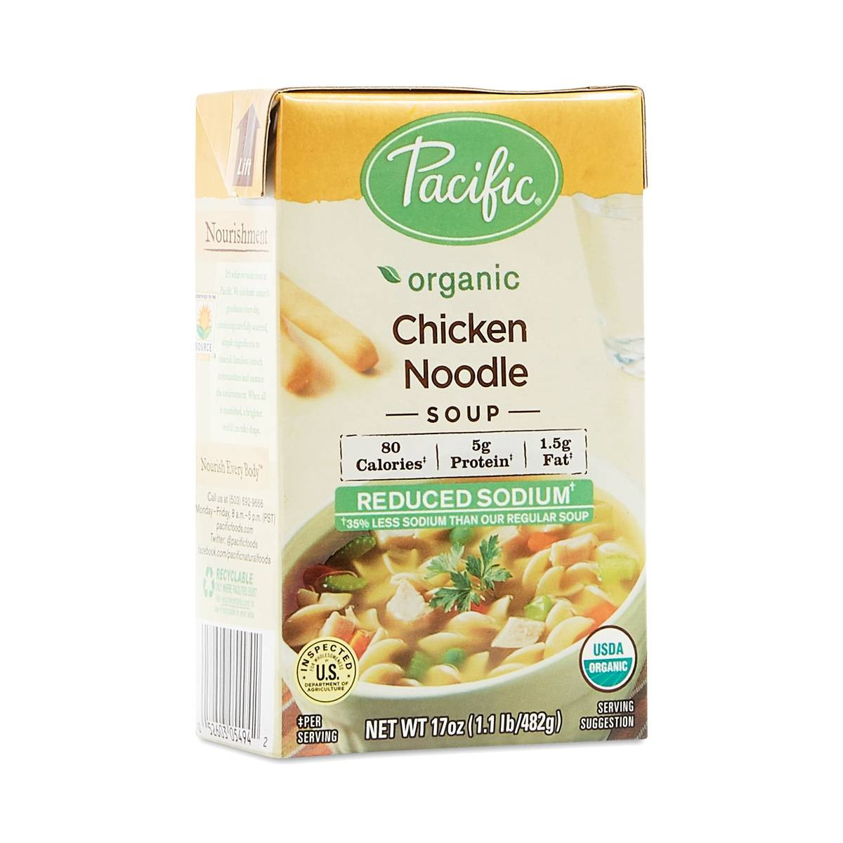 Organic Chicken Noodle Soup  Organic Reduced Sodium Chicken Noodle Soup Thrive Market