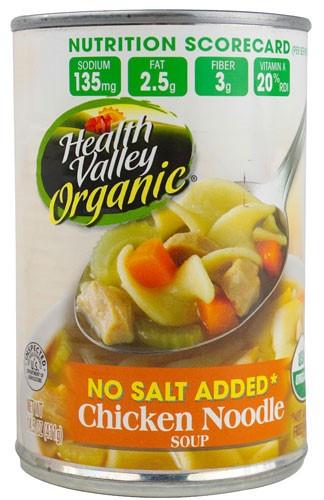 Organic Chicken Noodle Soup  Jet
