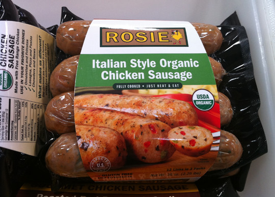 Organic Chicken Sausage Costco  Sugar Free Chicken Sausage The Sugar Scoop